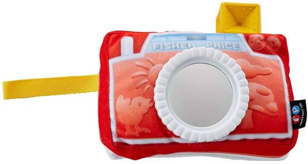 FISHER-PRICE Crinkle Camera Mirror School Bag
