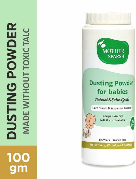 Mother Sparsh Talc-Free Natural Dusting Powder for Babies