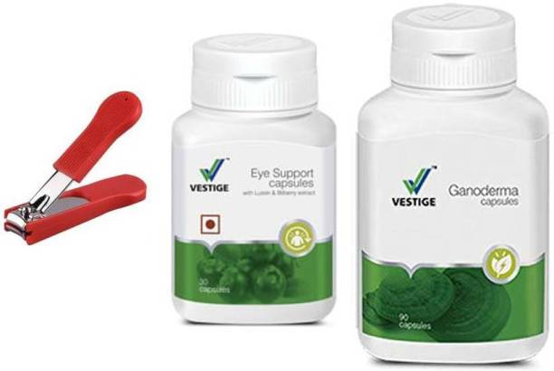 Vestige Eye Support and Ganoderma with nail cutter