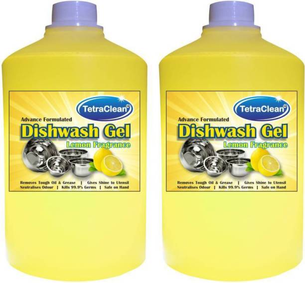 TetraClean Advance Formulated Dish wash Cleaning Gel Dish Cleaning Gel