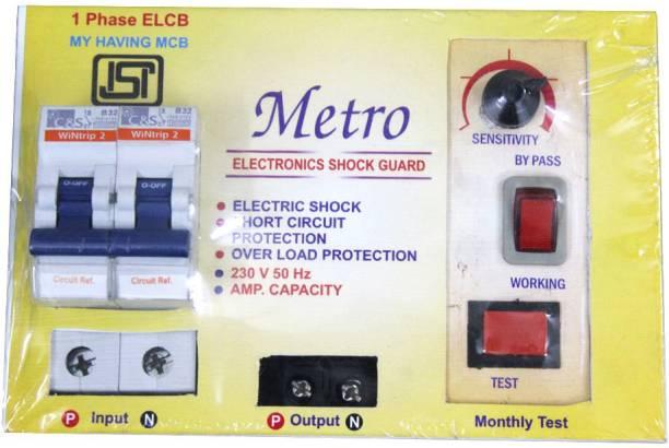 MLD ELCB 002 MCB 32 A+ ELCB + RCCB + ISI MCB 32 A voltage protection MCB