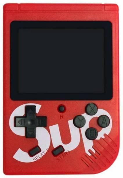 Blueseed SUP 400 in 1 Games Retro Game Box Console Handheld Game PAD Gamebox NA GB(Red) 8 GB with Mario, Contra and 400 more other games