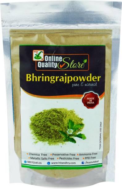 Online Quality Store Herbal Bhringraj Powder For Hair_100g