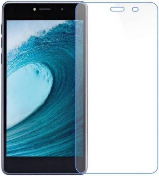 DARSHILGOLBE Edge To Edge Tempered Glass for Spice F305