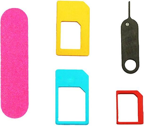 FUZION 5 In 1 Metal Sim Card Adapter for all phones Sim Adapter