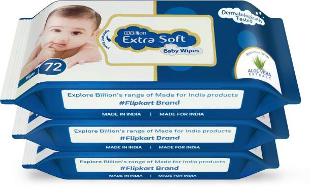 Billion Extra Soft Baby Wipes with Aloe Vera