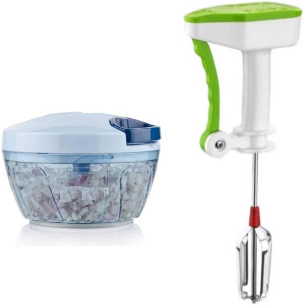 valida 115+108 Power Free Hand Blender and Vegetable chopper Combo set Multicolor Kitchen Tool Set