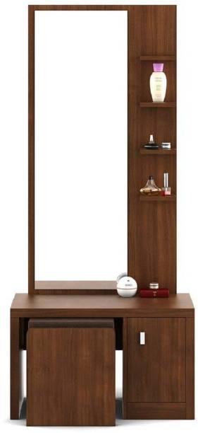 SLSFURN Solid Wood Dressing Table