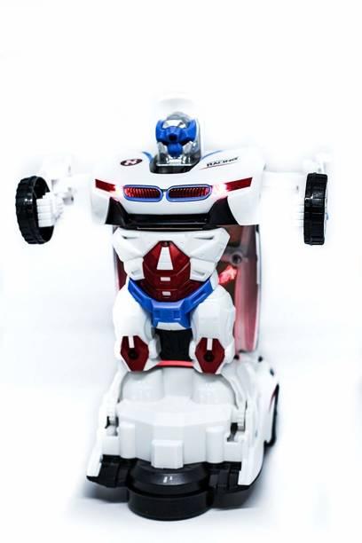 TOY & JOY Robot to Car Converting Transformer Auto Function