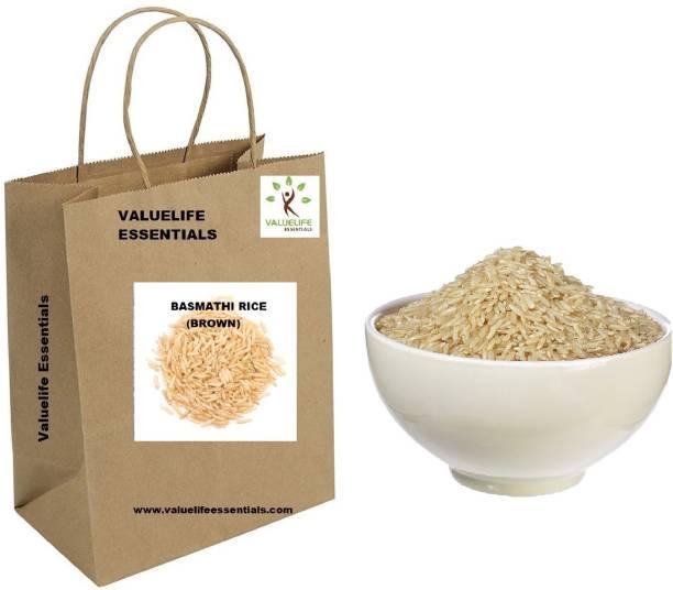 Value Life Basmathi Rice(Brown)Premium Quality Brown Basmati Rice (Medium Grain)