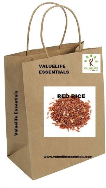Value Life RED RICE(Premium Quality) Red Raw Rice (Medium Grain)