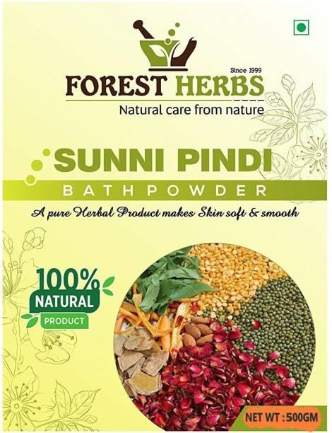 Forest Herbs Organic Sunni Pindi Herbal Bath Powder (Ubtan) 500Gms