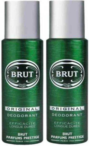 BRUT Original Deodorant Spray (200ml Each) Deodorant Spray  -  For Men