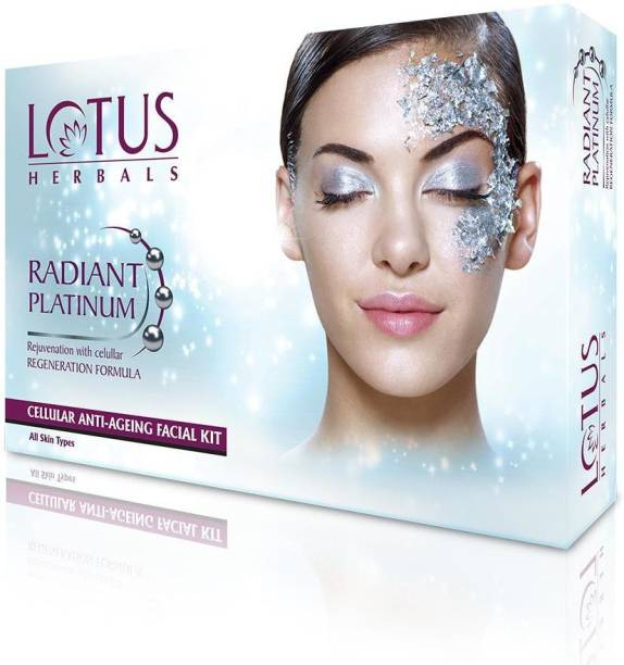 LOTUS HERBALS Herbals RADIANT PLATINUM Cellular Anti-Ageing 1 FACIAL KIT