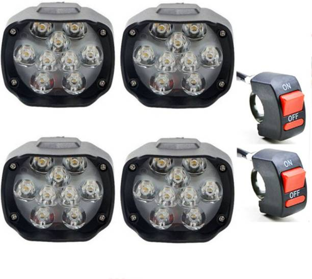 eshopglee LED Fog Lamp Unit for Hero, Honda, Yamaha 4 Series