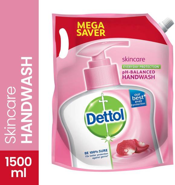 DETTOL Skin Care pH-Balanced Hand Wash Hand Wash Pouch