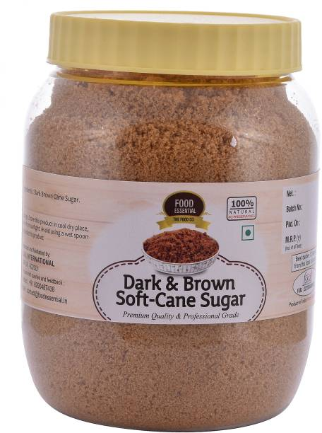 FOOD ESSENTIAL Dark & Brown Soft-Cane Sugar Sugar