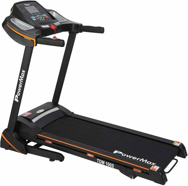 Powermax Fitness Power max Fitness TDM-100S 1.5Hp Motorized Treadmill
