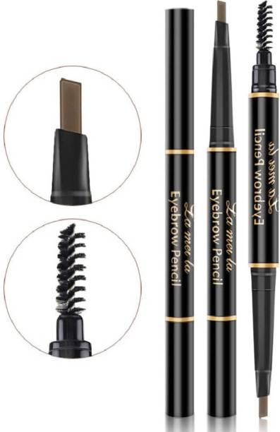 Sozzumi Waterproof Eyebrow Pencil with brush For Long Lasting Beauty eye