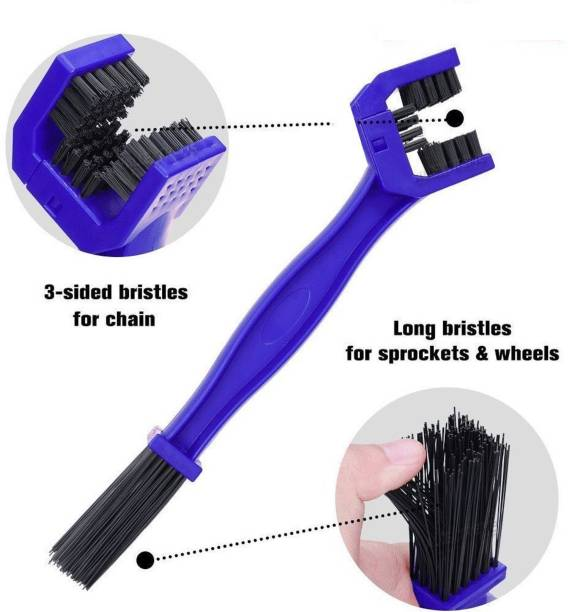 RIANZ Cycle Cleaning Accessory 1 pc Bike Chain Clean Brush