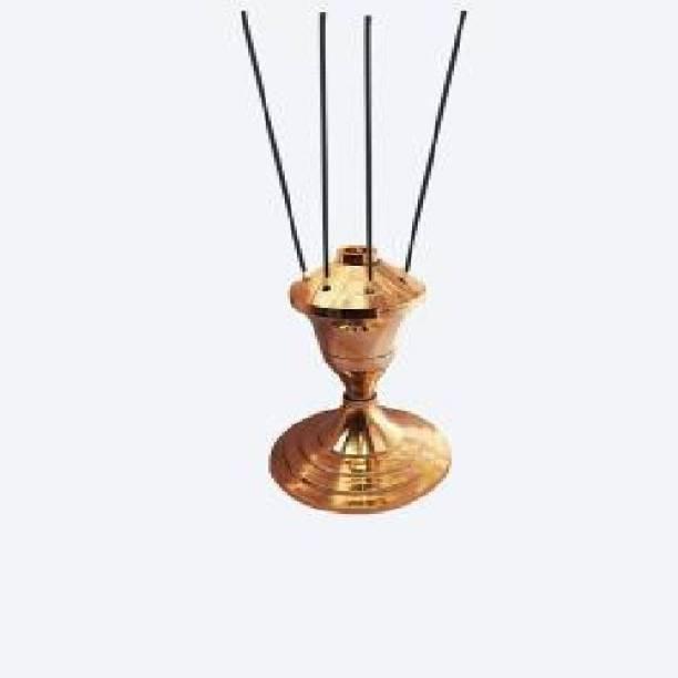 Rolimoli Brass Stand Agarbatti holder Brass Incense Holder