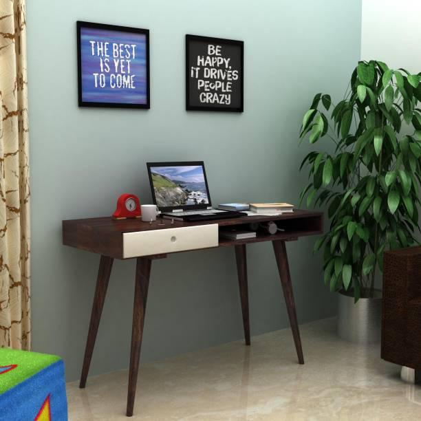 Flipkart Perfect Homes Solid Wood Study Table