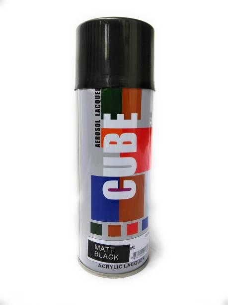 CUBE Matt Black Spray Paint 600 ml