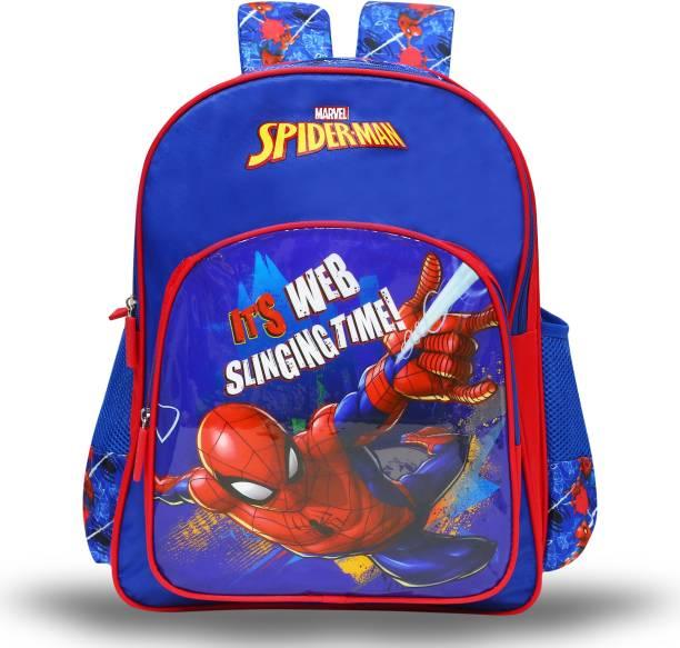 Spiderman Web Slinging 41cm Primary (Primary 1st-4th Std) School Bag