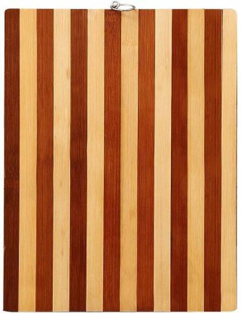 Gjshop Wooden Kitchen Chopping/Cutting/Slicing Board with Holder Wooden Cutting Board (Brown Pack of 1) wbs03 Wooden Cutting Board