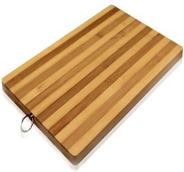 Shopeleven Chopping board Wooden Cutting Board Wooden Cutting Board (Brown Pack of 1) wbs26 Wooden Cutting Board