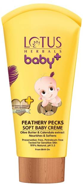 Lotus Herbals Baby+ Feathery Pecks Soft Baby Crme