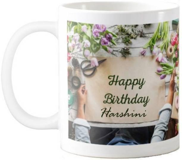 Exocticaa Harshini Happy Birthday Quotes 65 Ceramic Coffee Mug