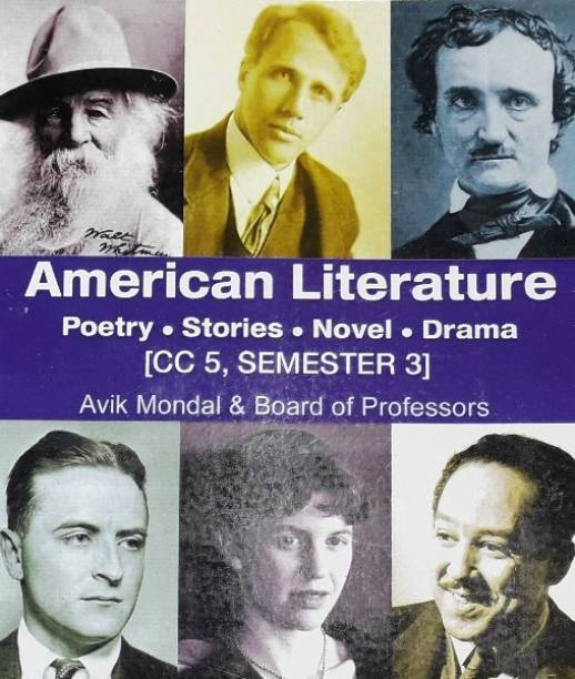 American Literature Poetry.stories.novel.drama. [cc5,semester 3]