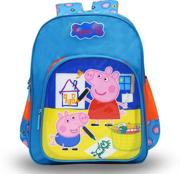 Peppa Pig Pre-School & George Pig 36cm Nursery (LKG/UKG/1st std) School Bag