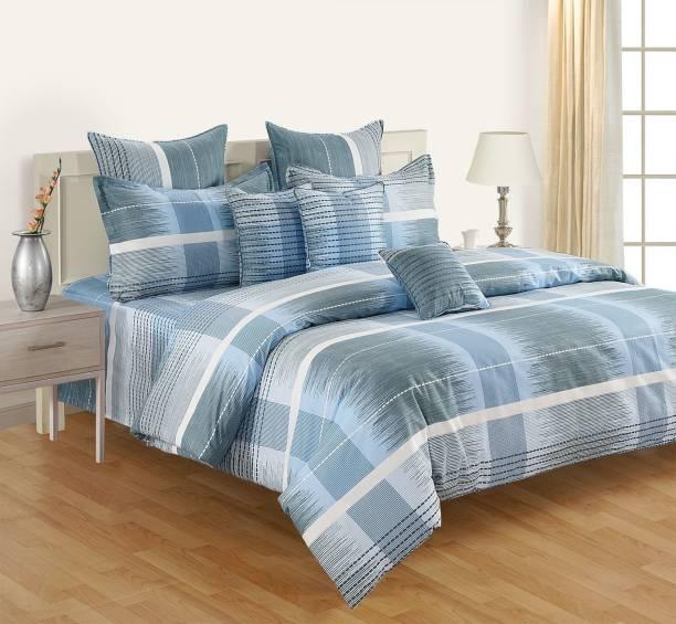 SWAYAM 160 TC Cotton Single Printed Bedsheet