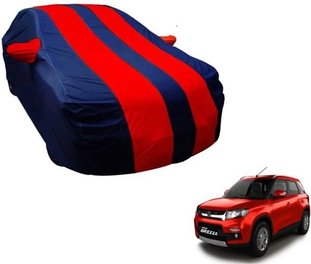 Flipkart SmartBuy Car Cover For Maruti Suzuki Vitara Brezza (With Mirror Pockets)
