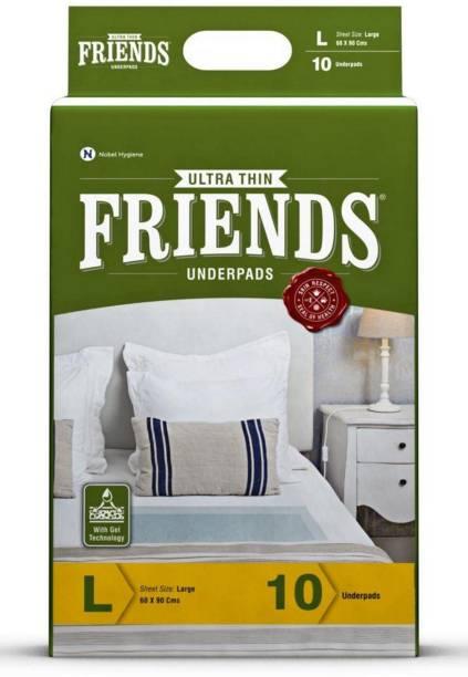 Friends Classic Underpads Adult Diapers   L