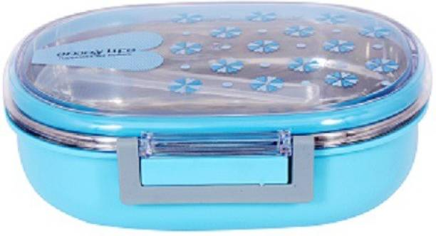 AKR Hot Tiffin Box With Container 1 Containers Lunch Box 1 Containers Lunch Box