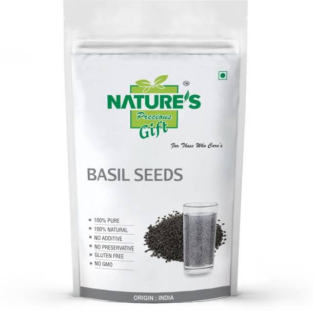 Nature's Precious Gift BASIL SEEDS, SABJA SEEDS Seed