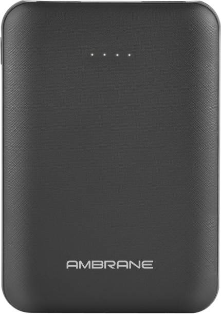 Ambrane 5000 mAh Power Bank (12 W, Fast Charging)