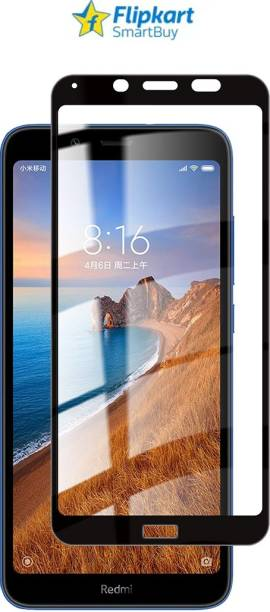 Flipkart SmartBuy Edge To Edge Tempered Glass for Mi Redmi 7A