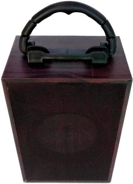 BUY SURETY Rechargeable Portable Wooden Speaker 5 W Bluetooth Speaker