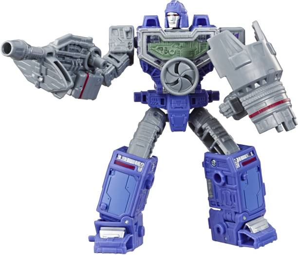 TRANSFORMERS Toys Generations War for Cybertron Deluxe WFC-S36 Refraktor Action Figure - Siege Chapter - Adults and Kids Ages 8 and Up, 5.5-inch
