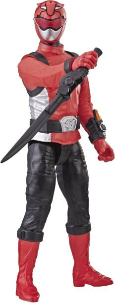 Power Rangers Beast Morphers Red Ranger 12-inch Action Figure Toy Inspired by the TV Show