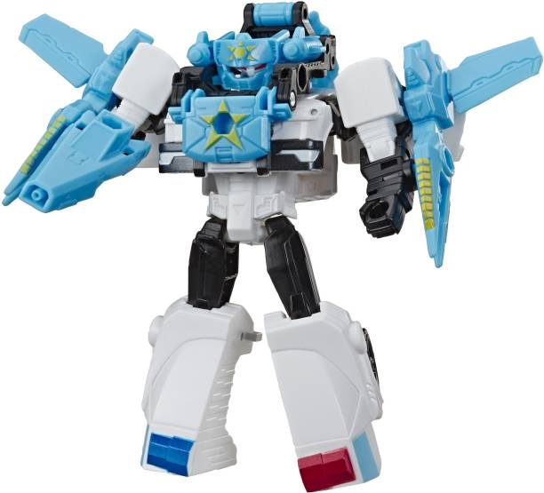 TRANSFORMERS Toys Cyberverse Spark Armor Prowl Action Figure - Combines with Cosmic Patrol Spark Armor vehicle to Power Up - For Kids Ages 6 and Up, 4-inch
