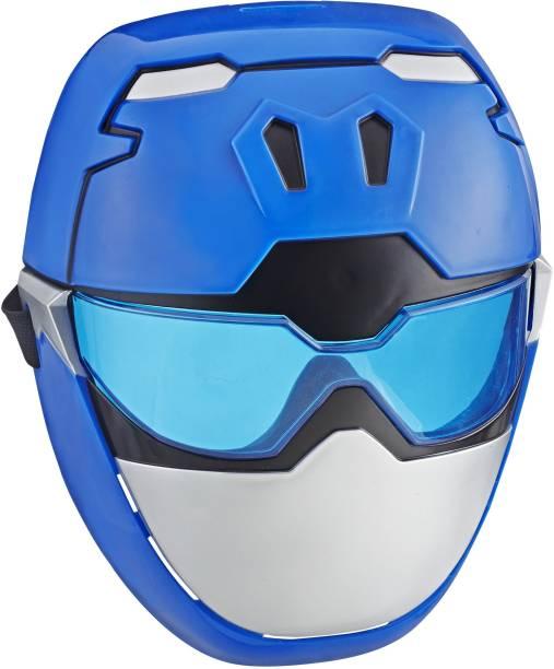 Power Rangers Beast Morphers Blue Ranger Mask for Roleplay