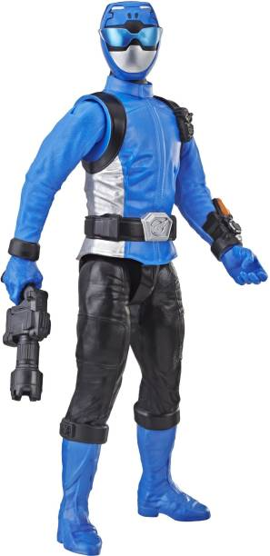 Power Rangers Beast Morphers Blue Ranger 12-inch Action Figure Toy Inspired by the TV Show