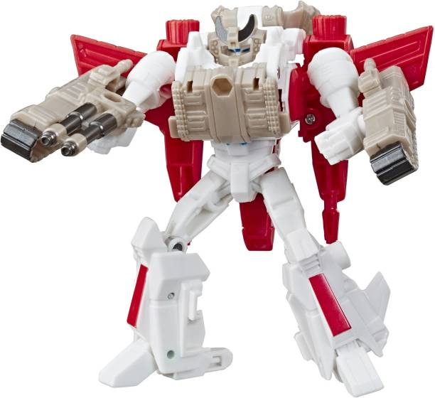 TRANSFORMERS Toys Cyberverse Spark Armor Jetfire Action Figure - Combines with Tank Cannon Spark Armor vehicle to Power Up - For Kids Ages 6 and Up, 4-inch
