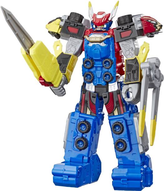 Power Rangers Beast Morphers Beast-X Megazord 10-Inch-Scale Action Figure Toy from the TV Show