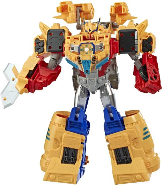 TRANSFORMERS Toys Cyberverse Spark Armor Ark Power Optimus Prime Action Figure - Combines with Ark Power Vehicle to Power Up - For Kids Ages 6 and Up, 12-inch